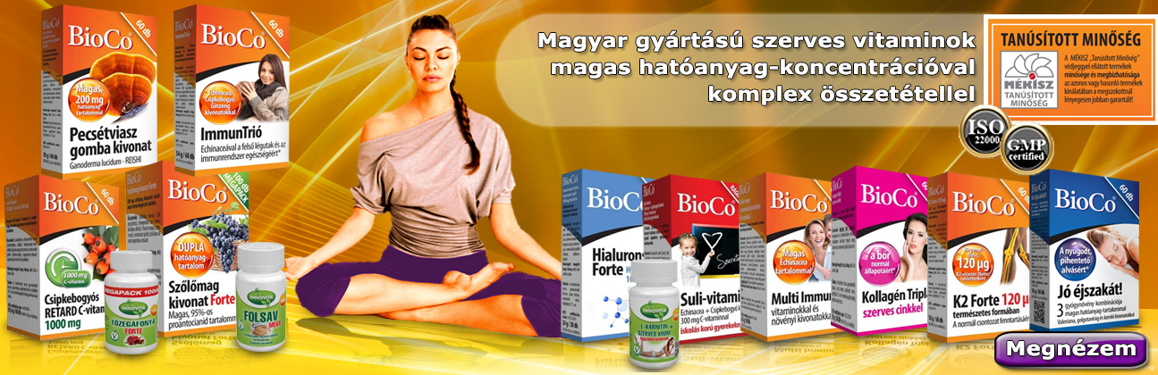 BioCo vitamin, étrend-kiegészítő rendelés